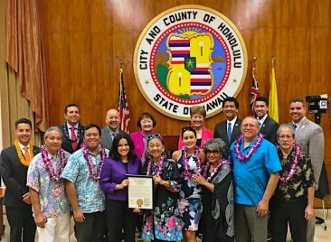 2018-UNA Honolulu 50th Year Recognition by State Government